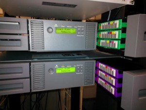 MSL2024 Tape Libraries with LTO-4 and LTO-6 Tapes