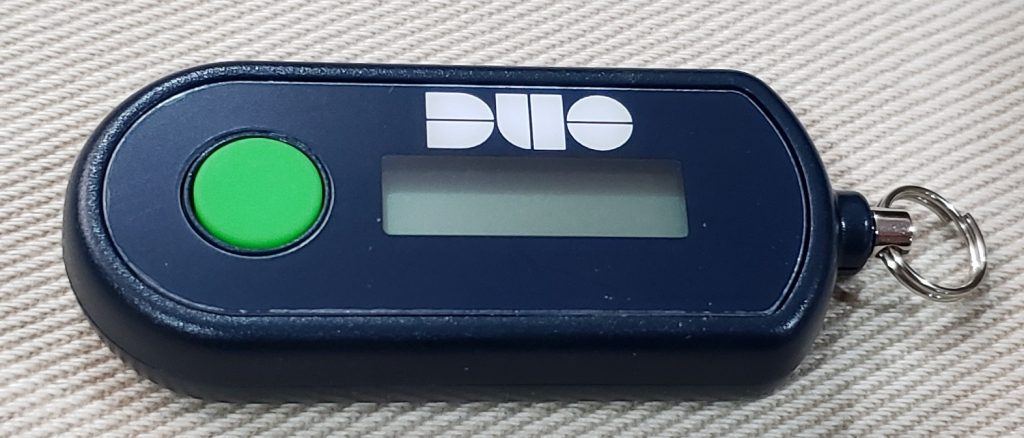 Duo D-100 HOTP Hardware Token