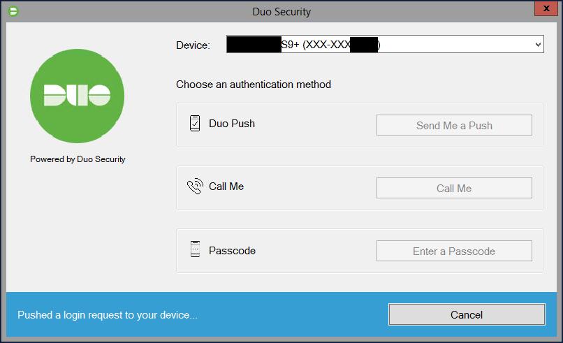 Duo MFA 2FA Prompt on Windows Login