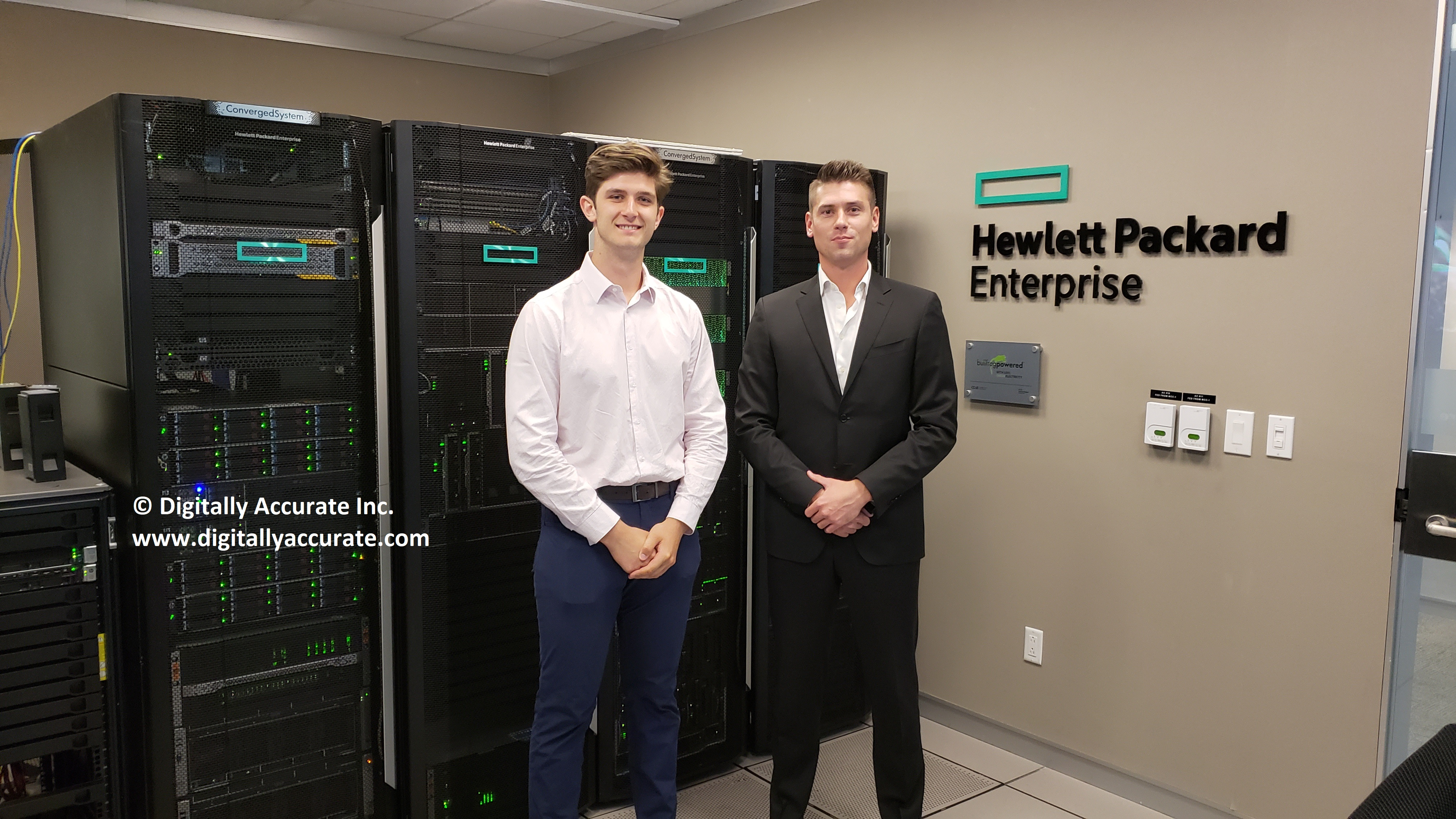 Digitally Accurate Inc  visits HPe Headquarters in Toronto
