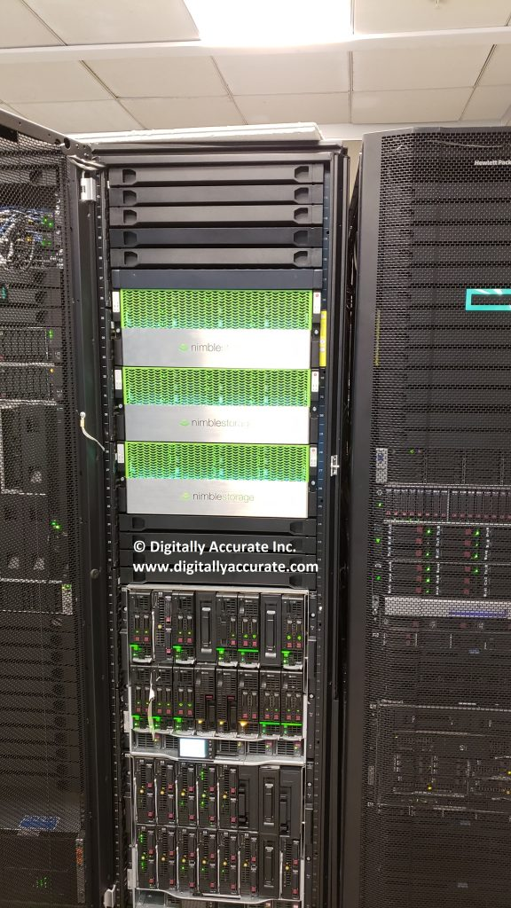 HPe Nimble Storage and HPe Syntergy at HPe HQ CCoE Data Center